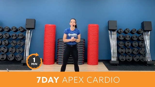 7Day Minute to Win It Challenge - APEX Cardio with Allison