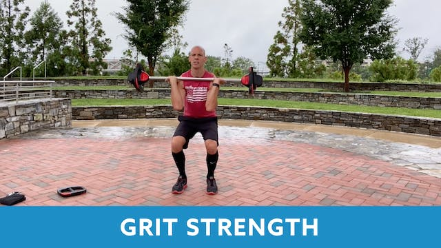 GRIT Strength 11 with Bob