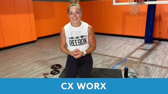 TONE UP 21 WEEK 3 - CXWORX with Caroline