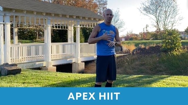APEX HIIT #40 with Bob (LIVE Friday 1...