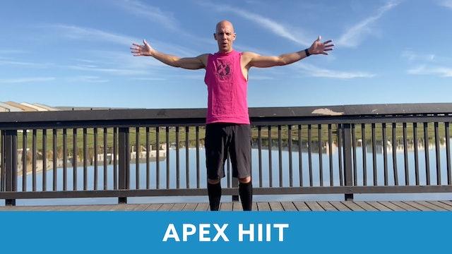 APEX HIIT #35 with Bob (LIVE Monday 10/12 @ 7:00am EST)