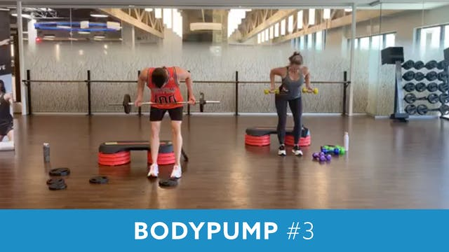 BodyPump #2 with Josh