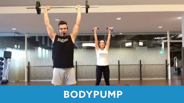 BodyPump with Josh