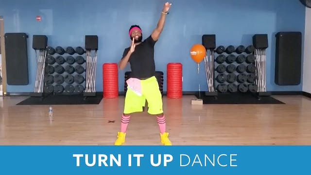 Turn It Up DANCE with TJ (LIVE Monday...