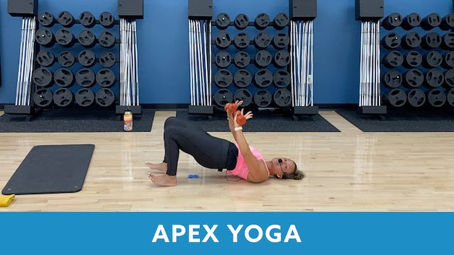 TONE UP 21 WEEK 1 - APEX YOGA #1 with...