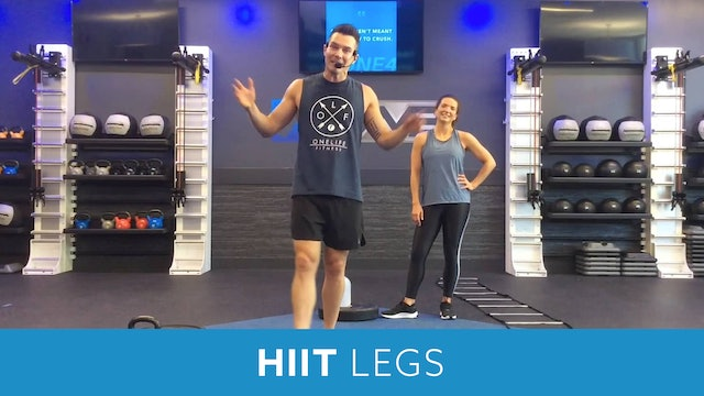 HIIT and Legs with Josh#1
