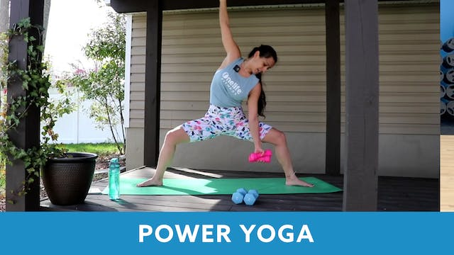 Power Yoga with Nina (LIVE Wednesday ...