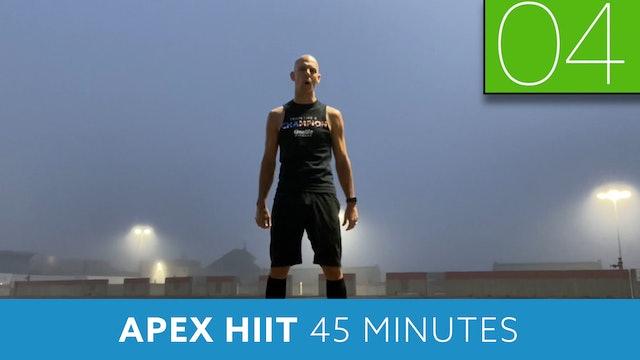 APEX HIIT #28 with Bob (LIVE Monday 9/28 @ 7:00am EST)