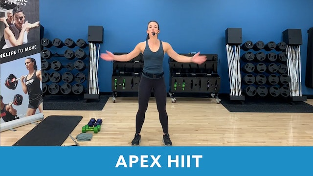 APEX HIIT with Allison - SEPTEMBER
