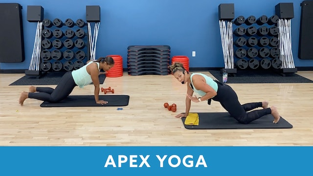 Transformation Challenge - (Week 5 Workout 1) APEX YOGA #7 with JoJo