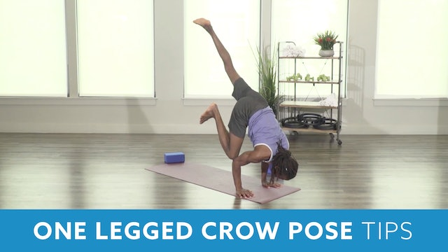 One Legged Crow Pose Tips with Marlon