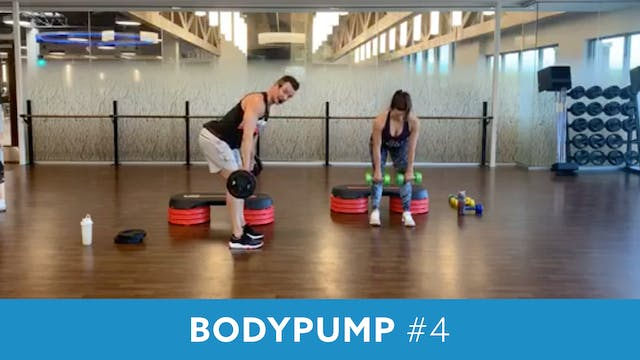 BODYPUMP # 4 with Josh