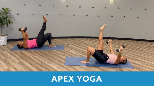 TONE UP 21 WEEK 7 - APEX YOGA #13 wit...