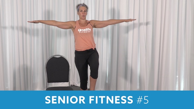 Senior Fitness Strength & Mobility with Juli (LIVE Monday 11/2 @ 11:00am EST)