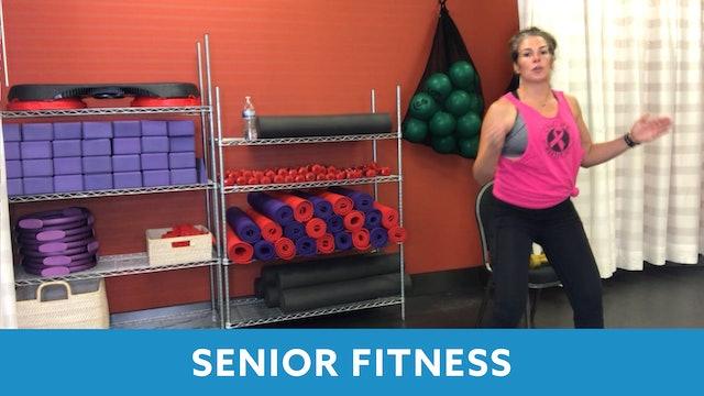 Juli Senior Fitness Cardio & Strength (LIVE Wednesday 11/4 @ 11am EST)