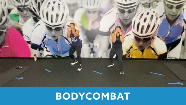 TONE UP 21 WEEK 3 - BODYCOMBAT with Mary