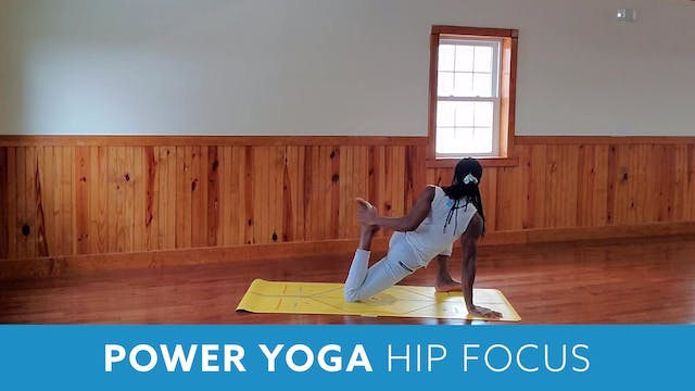 Power Yoga - Hip focus with Marlon (L...