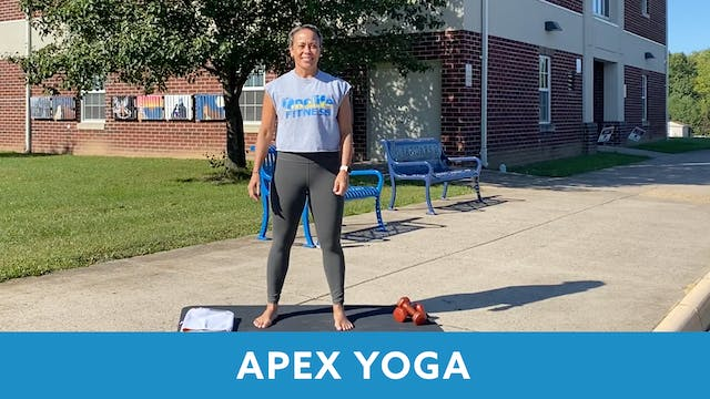 APEX YOGA 30 #14 with JoJo  (LIVE  10...