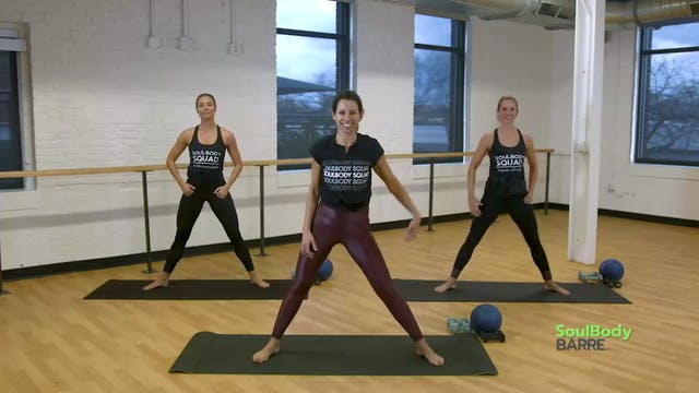 SoulBody Barre 35 minutes Plank, Uppe...