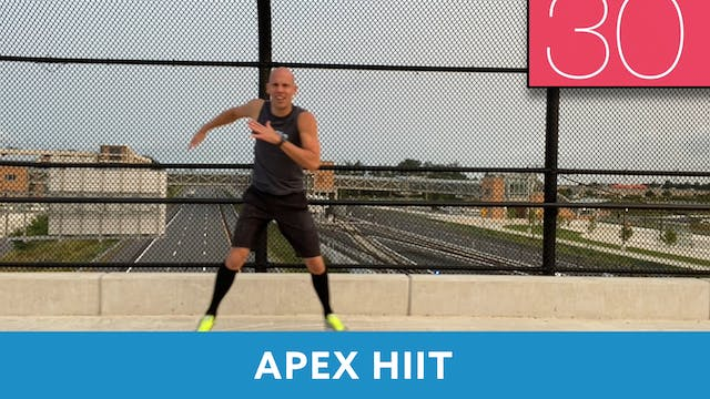 APEX HIIT #25 with Bob (LIVE Friday 9...