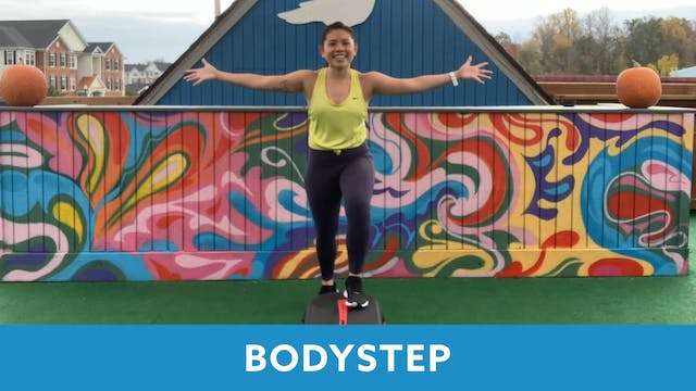 TONE UP 21 WEEK 6 - BODYSTEP with Jan...