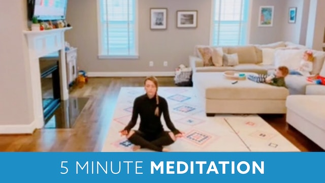 Five Minute Meditation with Carli