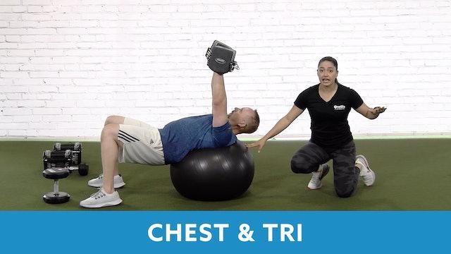 Restart Challenge - Chest & Tricep with Victoria