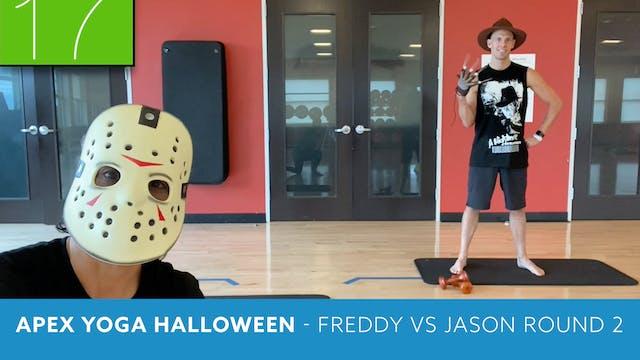 APEX YOGA Halloween - Freddy vs Jason...