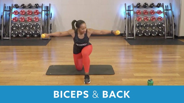Biceps and Back with Sam