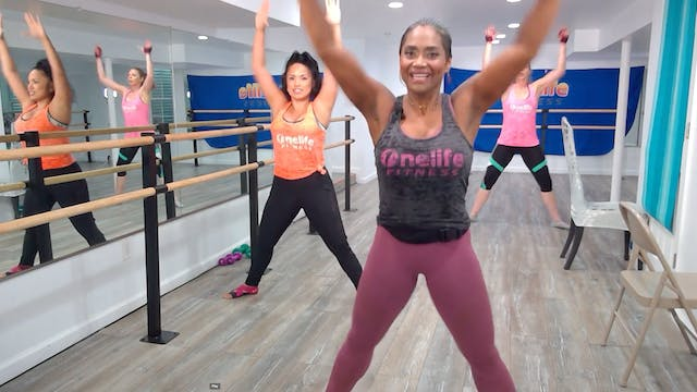 Barre with Shahana (LIVE Tuesday 7/7 ...