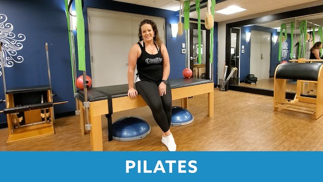 30 min Holiday Pilates with Morgan (L...