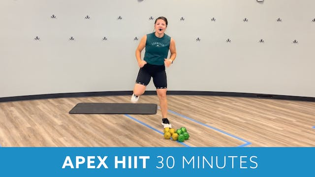 APEX HIIT 30 minutes with Mary (LIVE ...