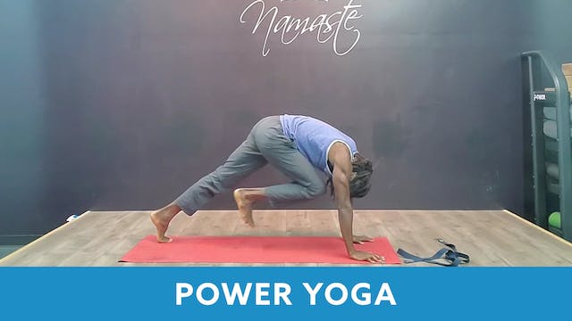 TONE UP 21 WEEK 4 - Power Yoga with M...