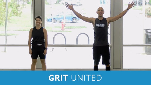 Transformation Challenge - (Week 3 Workout 1) GRIT STRENGTH UNITED with Bob