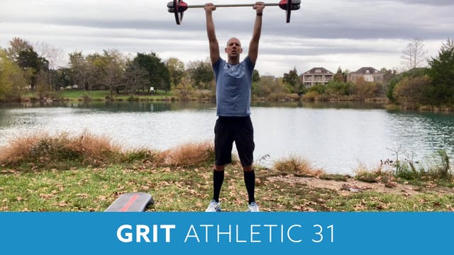 GRIT Athletic 31 with Bob (LIVE Wedne...