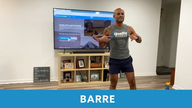 BARRE with Tomas