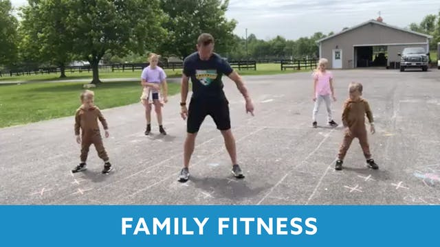 Family Fitness Outside with Kris