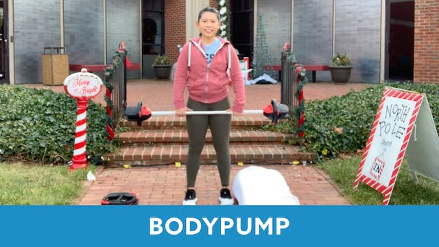 BODYPUMP with Janice (LIVE Monday 1/4...