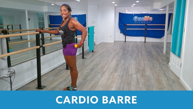 Cardio barre with Shahana (LIVE Wednesday 8/5 @ 10:00am EST )