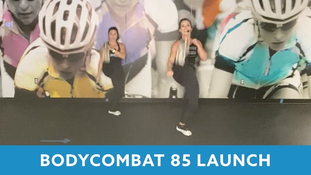 BODYCOMBAT 85 with Mary and Nikki (LA...