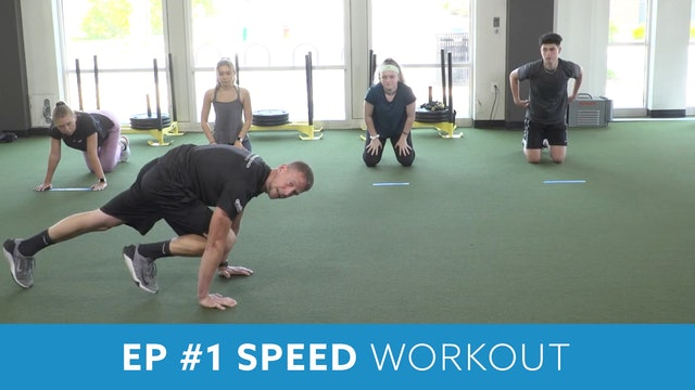 Day 1 - Advanced Part 1 -Explosive Performance (EP) #1 Speed with Kris