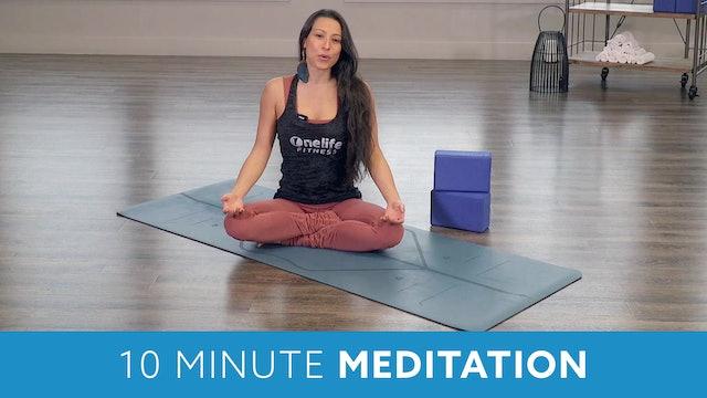 10 Minute Meditation with Nina