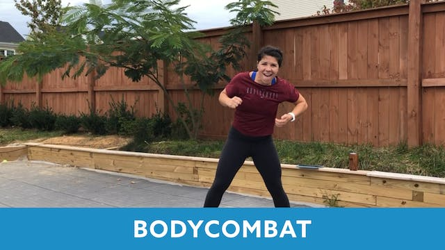 BODYCOMBAT with Mary (LIVE Monday 10/...