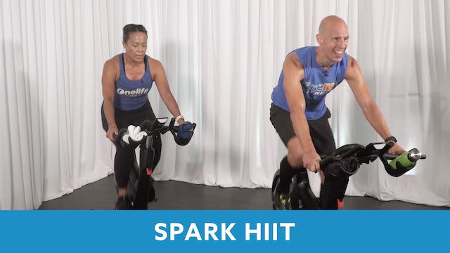 TONE UP 21 WEEK 1 - SPARK Cycle #3 with Bob