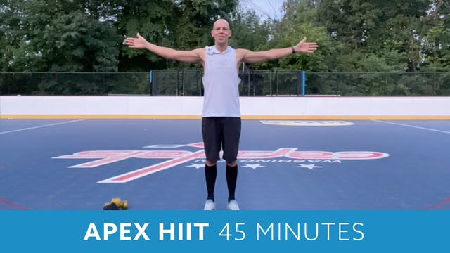 APEX HIIT with Bob (LIVE Monday 8/31 ...