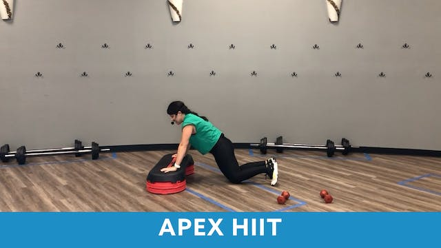 APEX HIIT with Mary (LIVE Monday 1/11...