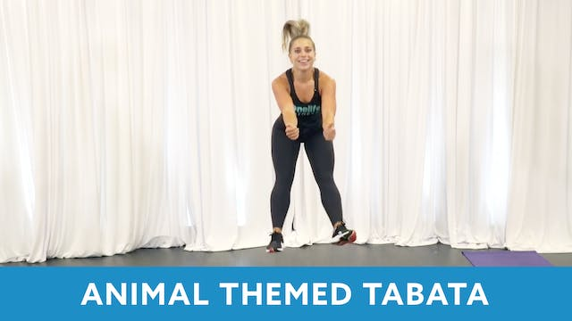 Animal Themed Tabata Workout with Car...