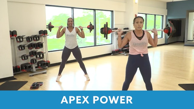 Transformation Challenge - (Week 6 Workout 3) APEX POWER #18 with JoJo & Sam