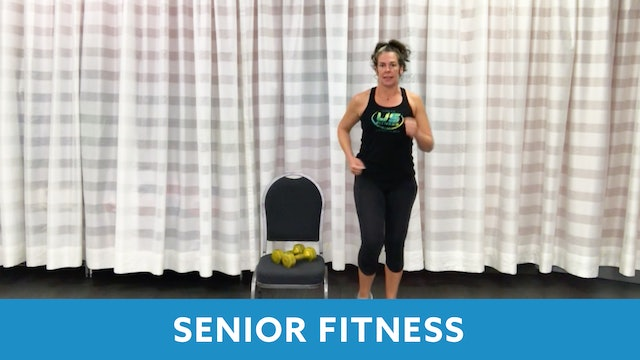 Senior Fitness Strength & Mobility with Juli (LIVE Wednesday 10/7 @ 11:00am EST)