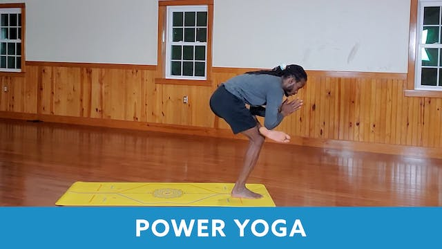 TONE UP 21 WEEK 7 - Power Yoga with M...